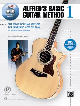 Alfred's Basic Guitar Method 1 (Third Edition): The Most Popular Metho (AL-00-45305)