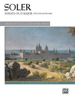Soler: Sonata in D Major (AL-00-47910)