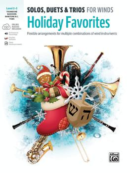 Solos, Duets & Trios for Winds: Holiday Favorites: Flexible Arrangemen (AL-00-48018)