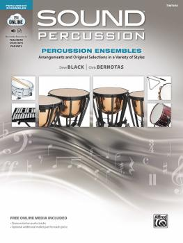 Sound Percussion Ensembles: Arrangements and Original Selections in a  (AL-00-48266)