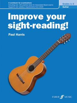 Improve Your Sight-Reading! Guitar, Levels 1-3: A Workbook for Examina (AL-12-0571541321)