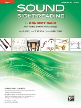 Sound Sight-Reading for Concert Band, Book 1: Music-Reading and Perfor (AL-00-48577)