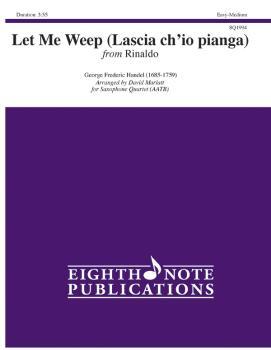 Let Me Weep (Lascia ch'io pianga) (from <i>Rinaldi</i>) (AL-81-SQ1994)