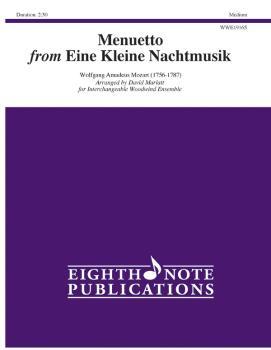 Menuetto (from <i>Eine Kleine Nachtmusik</i>) (AL-81-WWE19165)