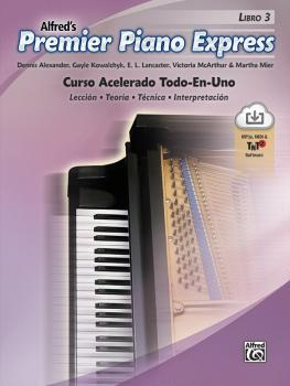 Premier Piano Express: Spanish Edition, Libro 3: An All-In-One Acceler (AL-00-47957)