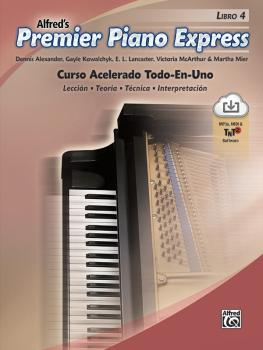 Premier Piano Express: Spanish Edition, Libro 4: An All-In-One Acceler (AL-00-47958)