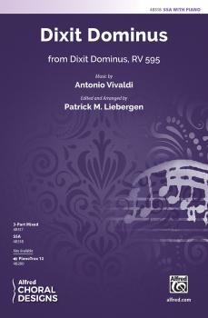 Dixit Dominus (from <i>Dixit Dominus</i>, RV 595) (AL-00-48318)