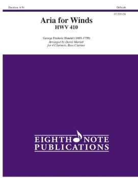 Aria for Winds (HWV 410) (AL-81-CC220124)