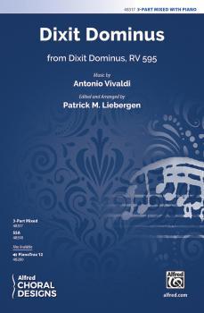 Dixit Dominus (from <i>Dixit Dominus</i>, RV 595) (AL-00-48317)