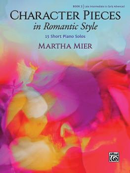 Character Pieces in Romantic Style, Book 3 (15 Short Piano Solos) (AL-00-48653)