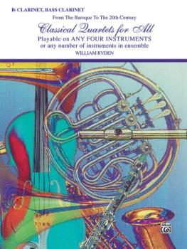 Classical Quartets for All (From the Baroque to the 20th Century) (AL-00-EL96153)