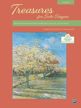 Treasures for Solo Singers: 10 Exceptional Vocal Solos for Recitals, C (AL-00-48587)