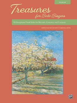 Treasures for Solo Singers: 10 Exceptional Vocal Solos for Recitals, C (AL-00-48588)