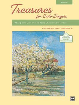 Treasures for Solo Singers: 10 Exceptional Vocal Solos for Recitals, C (AL-00-48583)