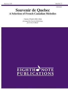 Souvenir de Québec: A Selection of French Canadian Melodies (AL-81-CB220413)