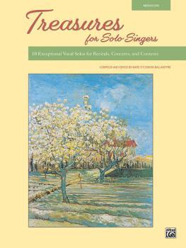 Treasures for Solo Singers: 10 Exceptional Vocal Solos for Recitals, C (AL-00-48584)