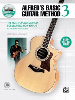 Alfred's Basic Guitar Method 3 (Third Edition): The Most Popular Metho (AL-00-45308)