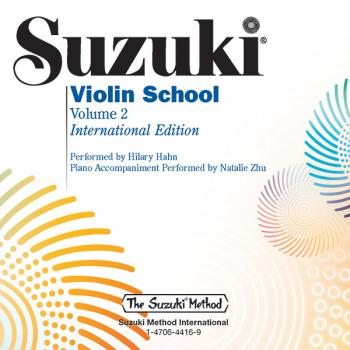 Suzuki Violin School, Volume 2: International Edition (AL-00-48726)