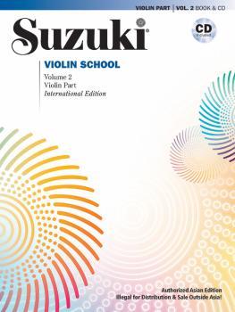 Suzuki Violin School, Volume 2 (Asian Edition) (Asian Edition) (AL-00-49293)