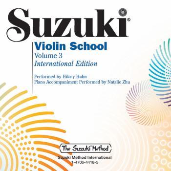Suzuki Violin School, Volume 3: International Edition (AL-00-48729)