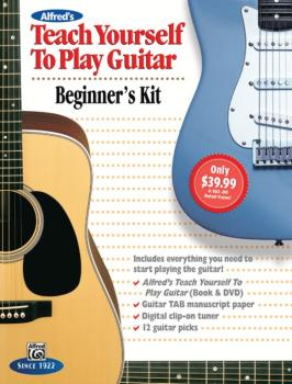 Alfred's Teach Yourself to Play Guitar: Beginner's Kit: Everything You (AL-00-42465)