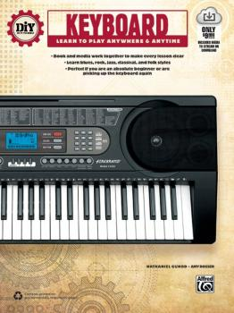 DiY (Do it Yourself) Keyboard: Learn to Play Anywhere & Anytime (AL-00-42550)