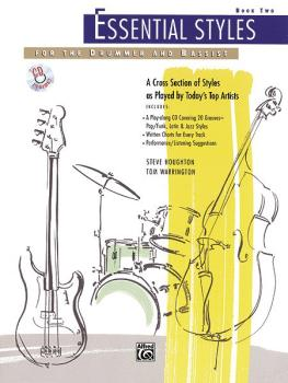 Essential Styles for the Drummer and Bassist, Book 2: A Cross Section  (AL-00-4302)