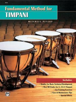 Fundamental Method for Timpani (AL-00-4312)