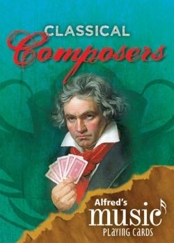 Alfred's Music Playing Cards: Classical Composers (1 Pack) (AL-00-38799)
