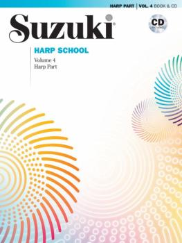 Suzuki Harp School Harp Part & CD, Volume 4: International Edition (AL-00-40826)