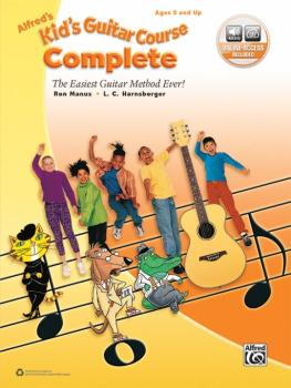Alfred's Kid's Guitar Course Complete: The Easiest Guitar Method Ever! (AL-00-45030)