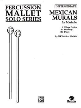 Mexican Murals (For Marimba) (AL-00-PERC00060)