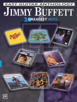 Jimmy Buffett: Easy Guitar Anthology (20 Greatest Hits) (AL-00-PGM0501)