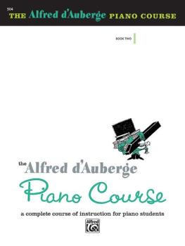 Alfred d'Auberge Piano Course: Lesson Book 2: A Complete Course of Ins (AL-00-504)