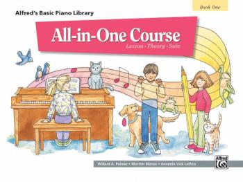 Alfred's Basic All-in-One Course, Book 1 (Lesson * Theory * Solo) (AL-00-5740)