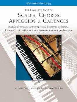 The Complete Book of Scales, Chords, Arpeggios & Cadences: Includes Al (AL-00-5743)