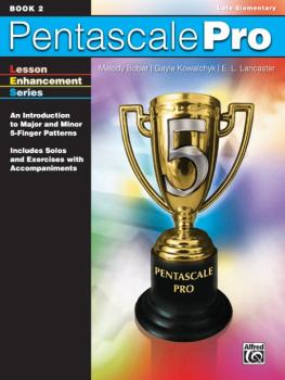 Pentascale Pro, Book 2: An Introduction to Major and Minor 5-Finger Pa (AL-00-32000)