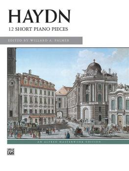 12 Short Piano Pieces (AL-00-627)