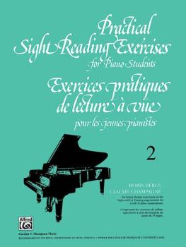 Practical Sight Reading Exercises for Piano Students, Book 2 (AL-00-V1032)
