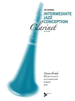 Intermediate Jazz Conception: Clarinet (15 Great Solo Etudes) (AL-01-ADV14785)