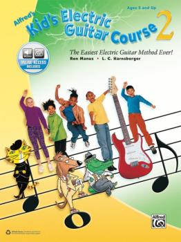 Alfred's Kid's Electric Guitar Course 2: The Easiest Electric Guitar M (AL-00-44454)