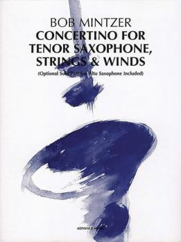 Concertino for Tenor Saxophone, Strings & Winds: Optional Solo Part fo (AL-01-ADV40001)