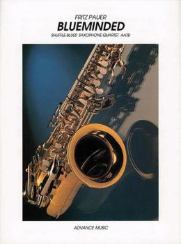 Blueminded: Shuffle-Blues Saxophone Quartet (AL-01-ADV7610)