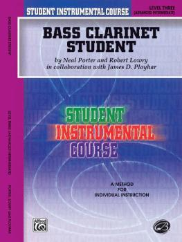 Student Instrumental Course: Bass Clarinet Student, Level III (AL-00-BIC00316A)