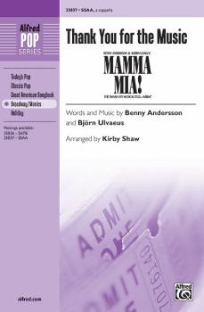 Thank You for the Music (From <i>Mamma Mia!</i>) (AL-00-35837)