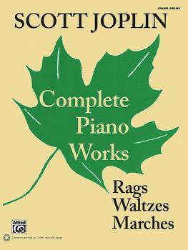 Scott Joplin: Complete Piano Works: Rags, Waltzes, Marches (AL-00-36268)