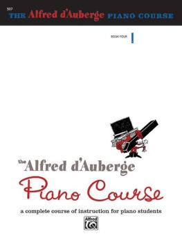 Alfred d'Auberge Piano Course: Lesson Book 4: A Complete Course of Ins (AL-00-507)