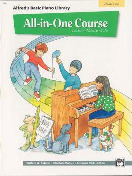 Alfred's Basic All-in-One Course, Book 2 (Lesson * Theory * Solo) (AL-00-5741)
