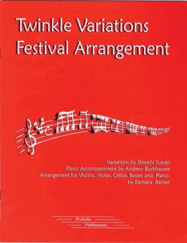 Twinkle Variations Festival Arrangement (AL-00-8017)