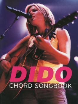 Dido: Chord Songbook (AL-55-10093A)